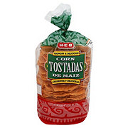 H-E-B Red Corn Tostadas
