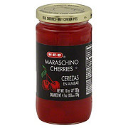 H-E-B Red Maraschino Cherries