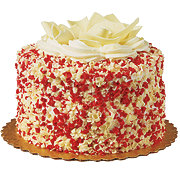 H-E-B Red Velvet Cheesecake Cake