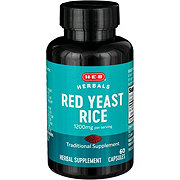 H-E-B Red Yeast Rice 600 mg Capsules