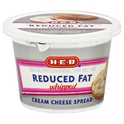 H-E-B Reduced Fat Whipped Cream Cheese Spread