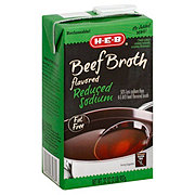 H-E-B Reduced Sodium Beef Broth