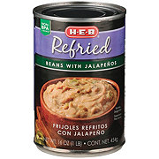 H-E-B Refried Beans With Jalapenos