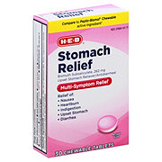 H-E-B Regular Strength Stomach Relief Original Flavor Chewable Tablets