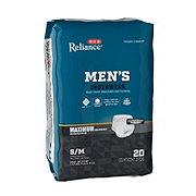H-E-B Reliance Underwear for Men, Maximum Absorbency, 20 Count