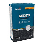 H-E-B Reliance Underwear for Men, Maximum Absorbency, 32 Count