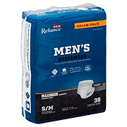 H-E-B Reliance Underwear for Men, Maximum Absorbency, 36 Count