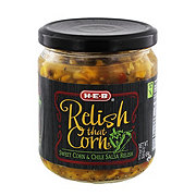 H-E-B Relish that Corn Sweet Corn & Chile Salsa Relish
