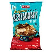 H-E-B Restaurant Style Corn Tortilla Chips