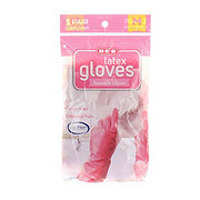 H-E-B Reusable Latex Gloves