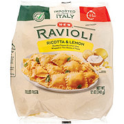 H-E-B Ricotta & Lemon Ravioli