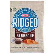H-E-B Ridged BBQ Chips