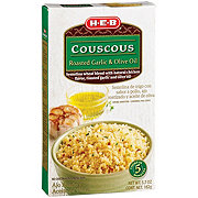 H-E-B Roasted Garlic & Olive Oil Couscous