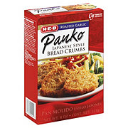 H-E-B Roasted Garlic Panko Bread Crumbs