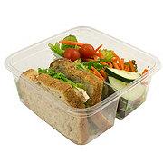 H-E-B Rotisserie Chicken Half Sandwich with a Salad
