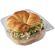 H-E-B Rotisserie Chicken Salad Croissant Sandwich