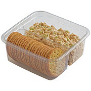 H-E-B Rotisserie Chicken Salad with Crackers