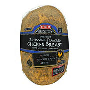 H-E-B Rotisserie Flavored Chicken Breast