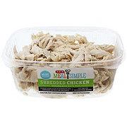 H-E-B Rotisserie Shredded Chicken White Meat