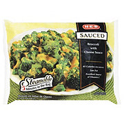 H-E-B Sauced Steamable Broccoli With Cheese Sauce