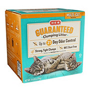 H-E-B Scented Multi-Cat Guaranteed Clumping Litter
