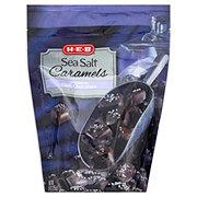 H-E-B Sea Salt Caramels Covered In Dark Chocolate