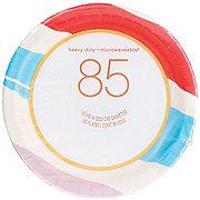 H-E-B Seasonal Paper Plates, 10 inch