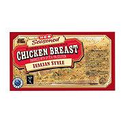 H-E-B Seasoned Boneless Skinless Italian Style Chicken Breasts