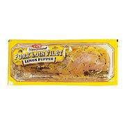 H-E-B Seasoned Lemon Pepper Pork Loin Filet
