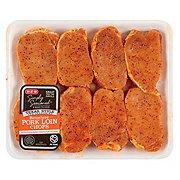 H-E-B Seasoned Loin Chop Boneless Value Pack