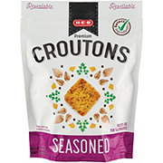 H-E-B Seasoned Restaurant Style Premium Croutons