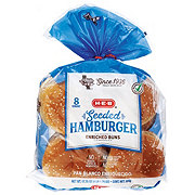 H-E-B Seeded Hamburger Buns