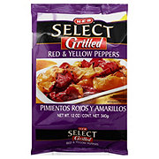 H-E-B Select Grilled Red and Yellow Peppers