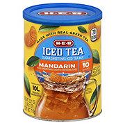 H-E-B Select Ingredient Mandarin Sugar Sweetened Iced Tea Mix