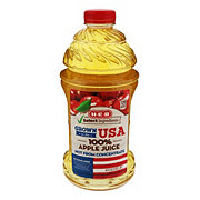 H-E-B Select Ingredients 100% Apple Juice, Grown in the USA