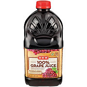 H-E-B Select Ingredients 100% Grape Juice