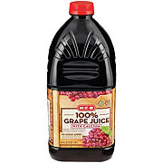 H-E-B Select ingredients 100% Grape Juice with Calcium