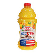 H-E-B Select Ingredients 100% Orange Juice, Grown in the USA