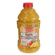 H-E-B Select Ingredients 100% Pineapple Mango Juice