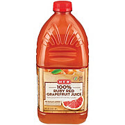 H-E-B Select Ingredients 100% Ruby Red Grapefruit Juice
