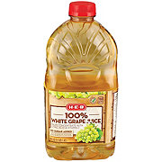 H-E-B Select Ingredients 100% White Grape Juice