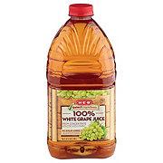H-E-B Select Ingredients 100% White Grape Juice
