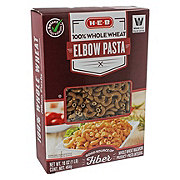 H-E-B Select Ingredients 100% Whole Wheat Elbow Pasta