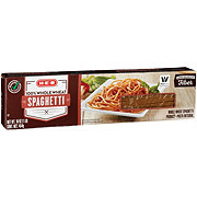 H-E-B Select Ingredients 100% Whole Wheat Spaghetti Pasta