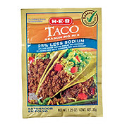 H-E-B Select Ingredients 25% Less Sodium Taco Seasoning Mix