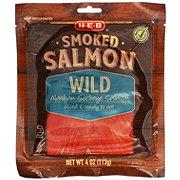 H-E-B Select Ingredients Alaskan Wild Smoked Sockeye Salmon