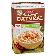 H-E-B Select Ingredients Apples & Cinnamon Instant Oatmeal