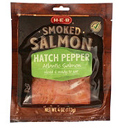 H-E-B Select Ingredients Atlantic Hatch Pepper Smoked Salmon