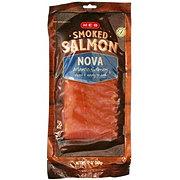 H-E-B Select Ingredients Atlantic Nova Smoked Salmon