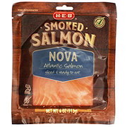 H-E-B Select Ingredients Atlantic Nova Smoked Salmon